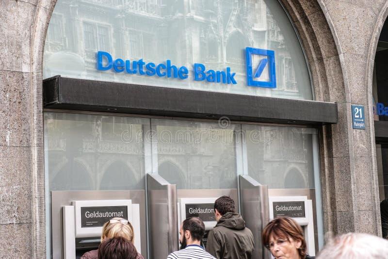 Deutsche Bank ATMs photos stock