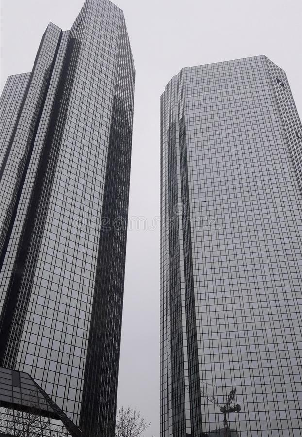 Deutsche Bank Francfort images libres de droits