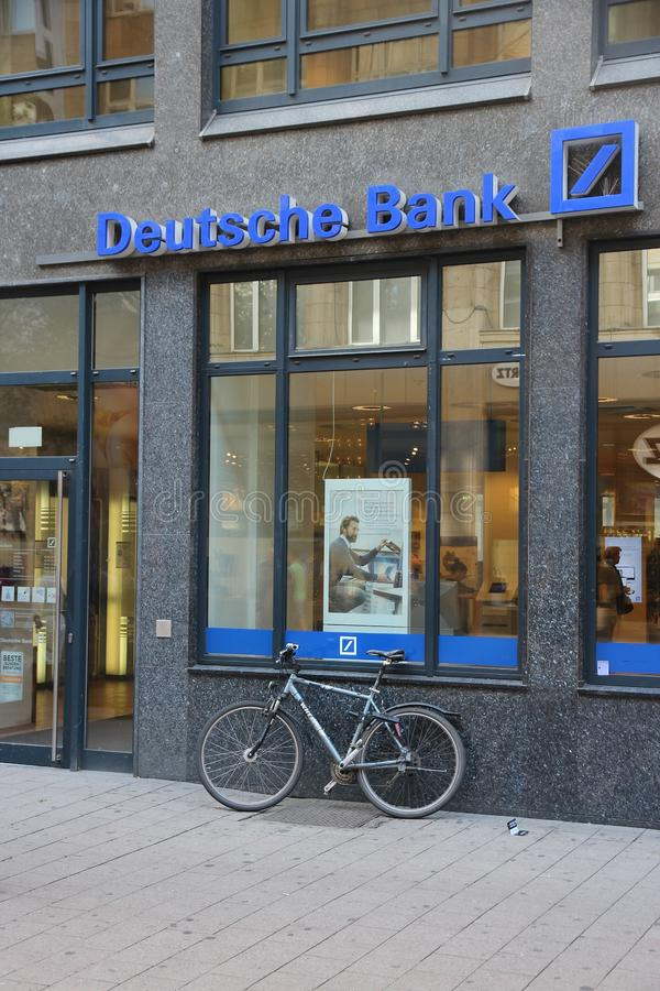 Deutsche Bank royaltyfria foton