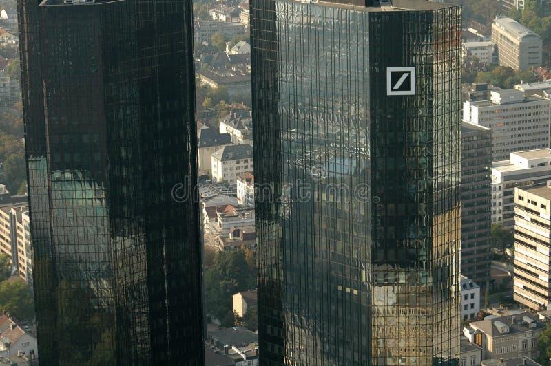 Deutsche Bank-Hauptsitze lizenzfreie stockbilder