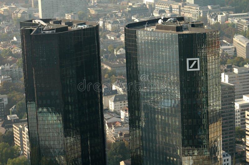 Deutsche Bank-Hauptsitze stockbild
