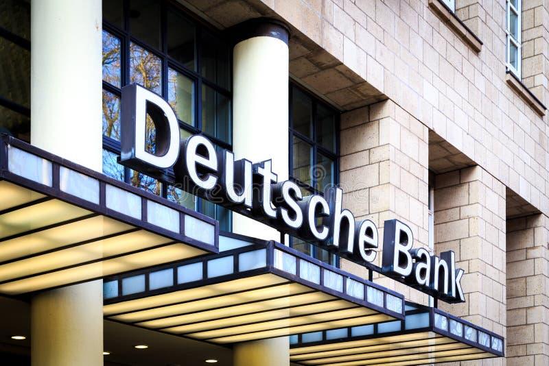 Deutsche Bank royalty free stock photos