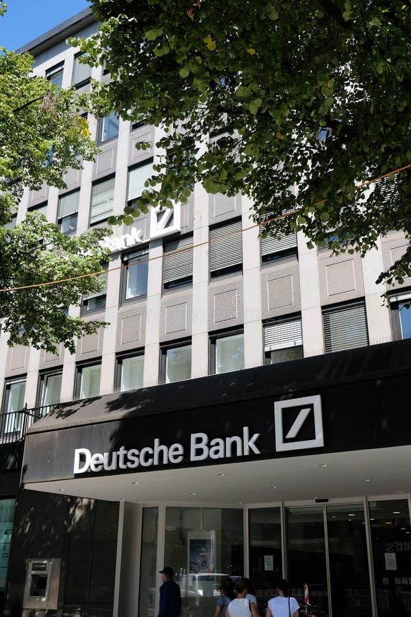 Deutsche Bank verzweigen sich lizenzfreie stockfotografie