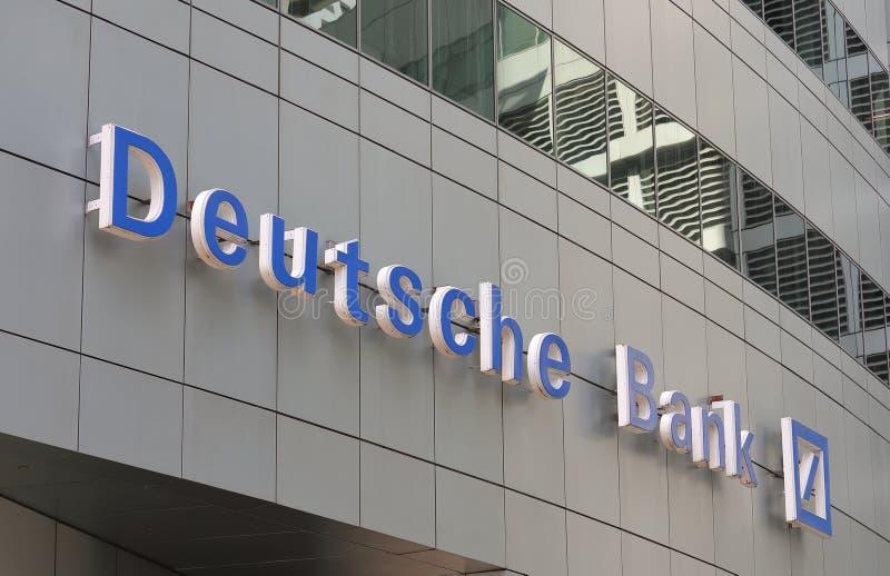 Deutsche bankTyskland royaltyfri bild