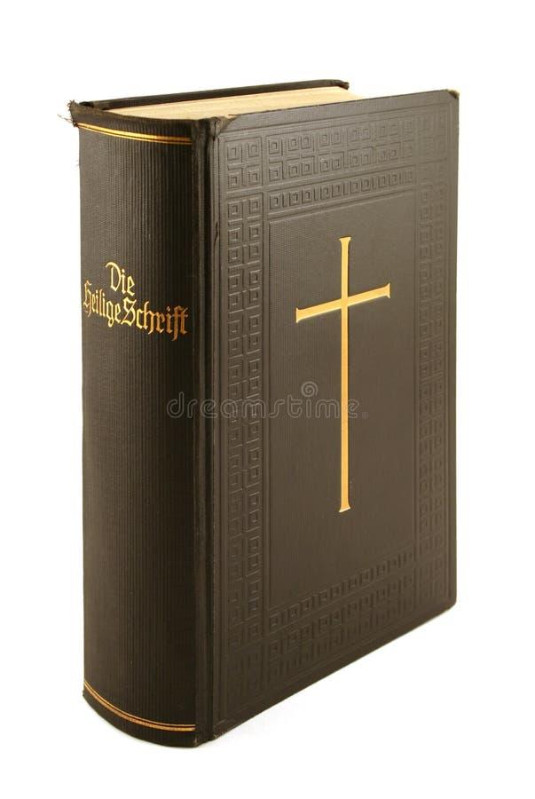 Deutsche Bibel stockfotografie