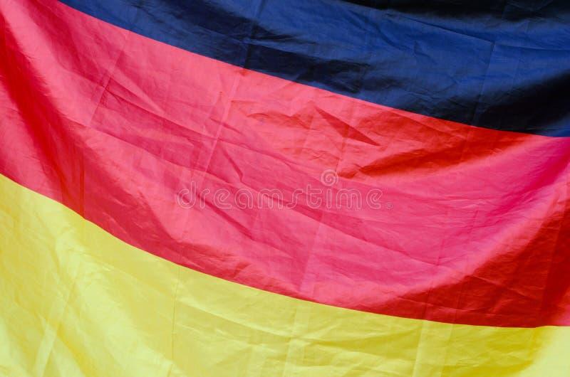 Deutsche Flagge stockfotos