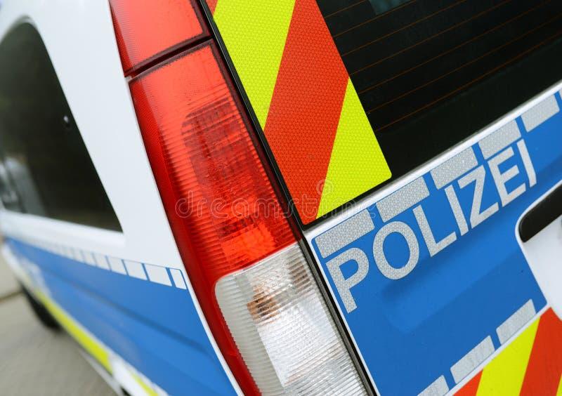 Deutsche Polizei stockbilder