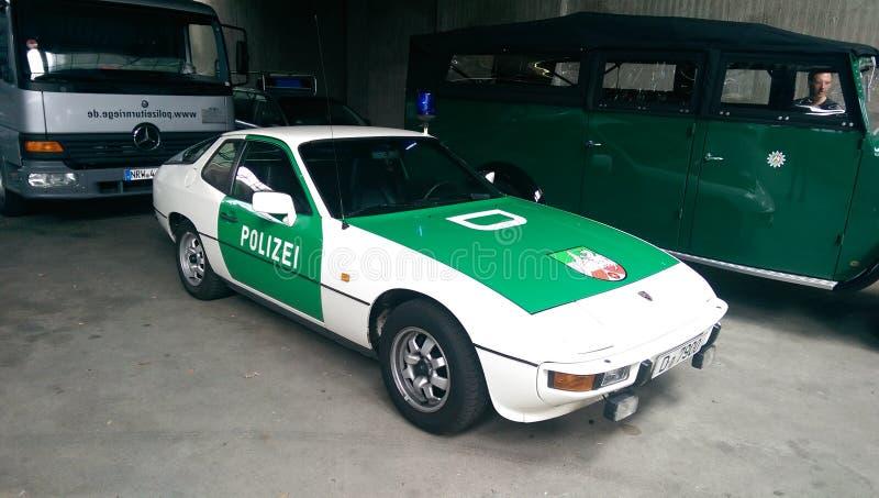 Deutsche Polizei im Ruhestand stockfoto