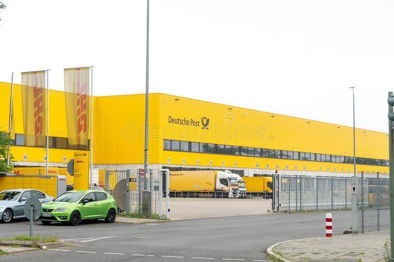 Deutsche Post allemand DHL photos stock