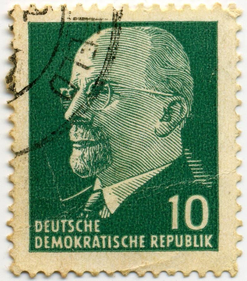 Deutsche Stempel lizenzfreie stockfotografie