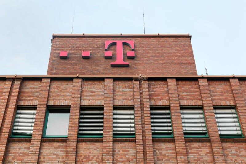 Deutsche Telekom building and office stock photos