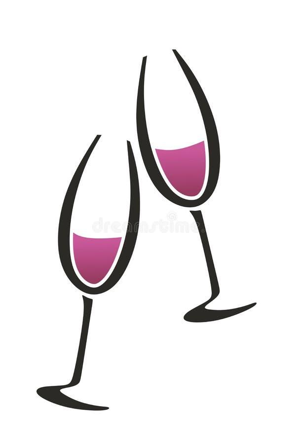 Deutsche Weinhandlung lizenzfreie stockbilder