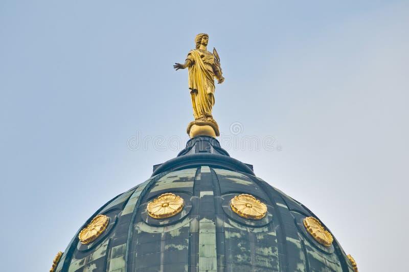 The Deutscher Dom at Berlin, Germany stock image
