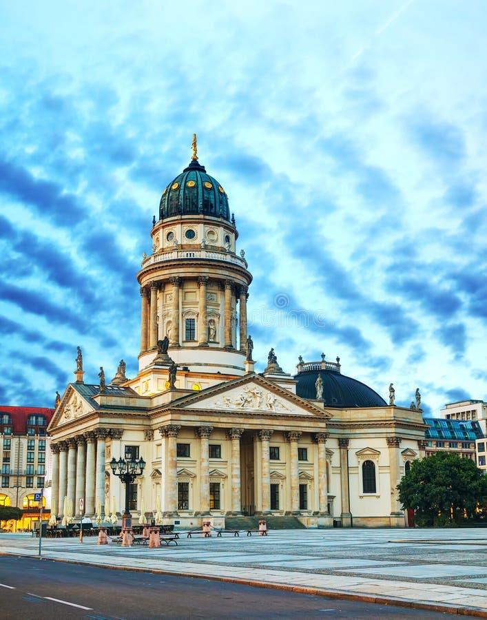 Deutscher Dom (Neue Kirche) in Berlin. BERLIN - OCTOBER 5: Neue Kirche on October 5, 2014 in Berlin, Germany. It's the colloquial naming for the Deutscher Dom of stock photo