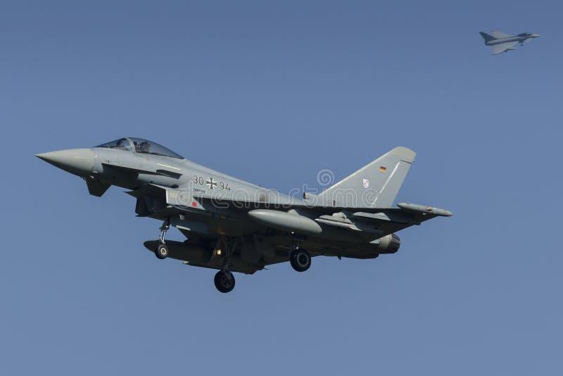 Deutscher Eurofighter lizenzfreie stockfotos