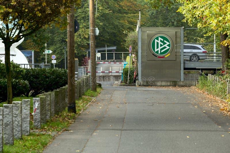 Deutscher Fussball障壁 免版税图库摄影