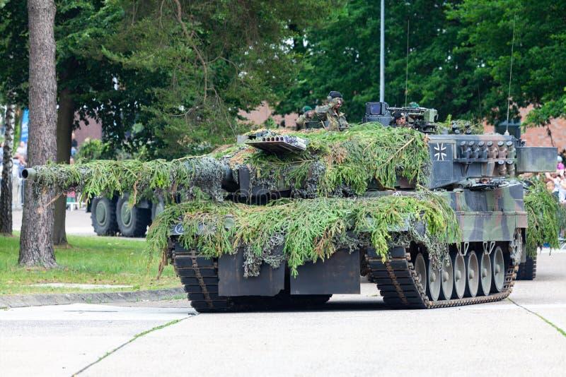 Deutscher Hauptpanzer Leopard 2A6 stockfotos