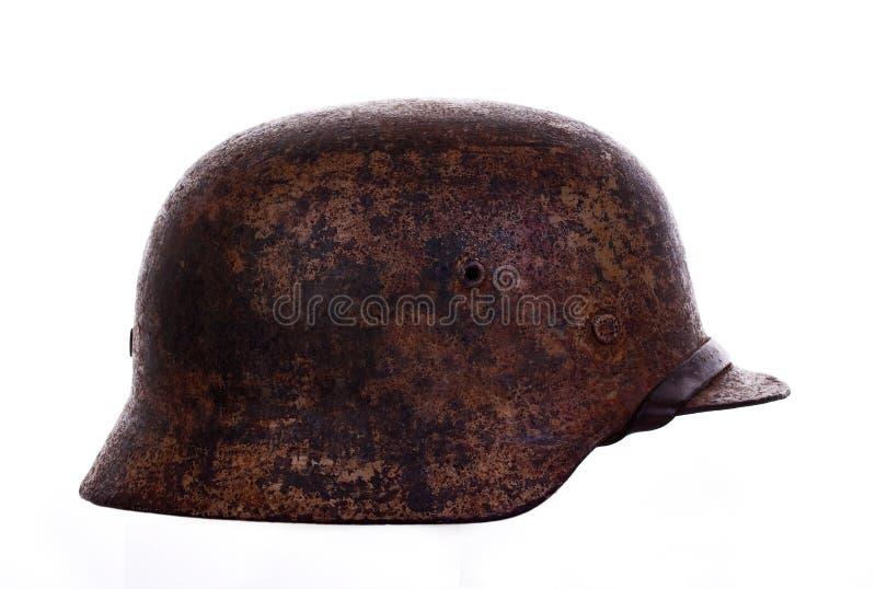 Deutscher Kriegsturzhelm stockfotografie