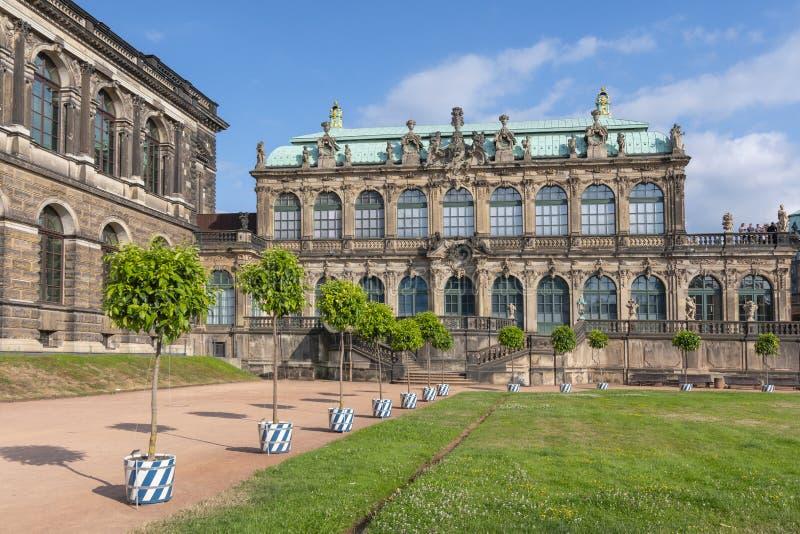 The Deutscher Pavillon German Pavilion in the Zwinger in Dresden, Germany. The Deutscher Pavillon German Pavilion in the Zwinger a famous palace in Dresden stock image