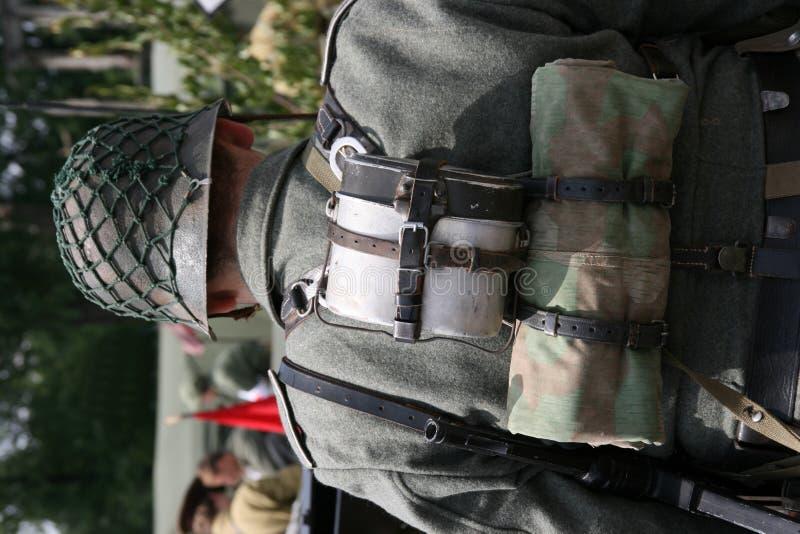 Deutscher Soldat stockfoto
