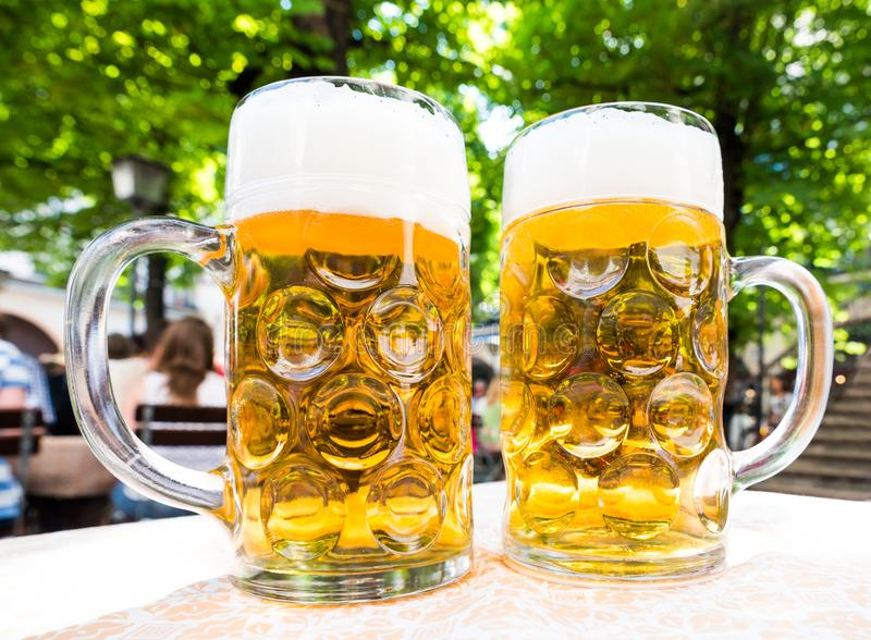 Deutsches Bier stockfoto