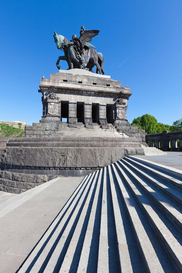 The Deutsches Eck Stock Photography