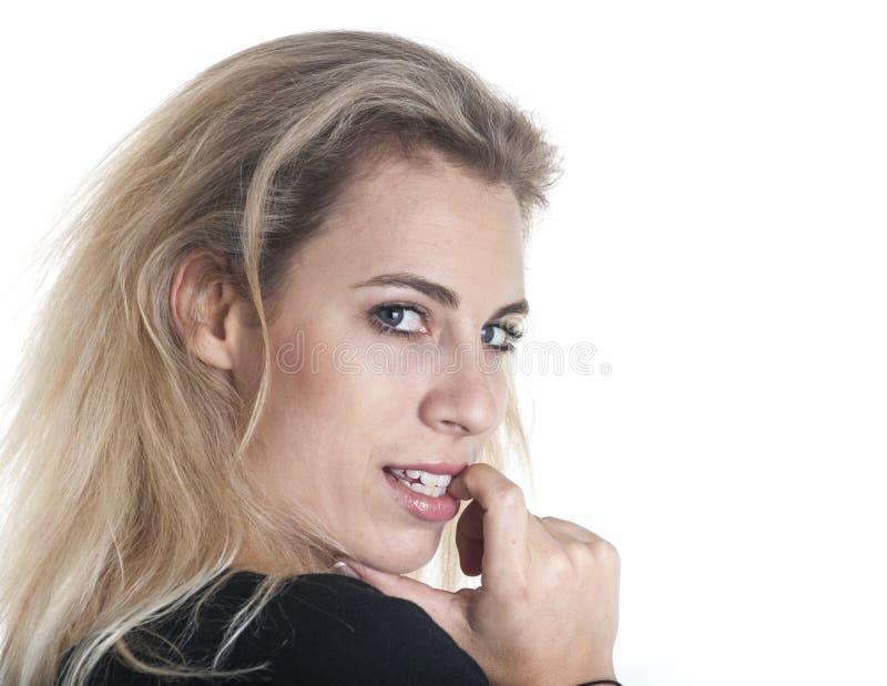 Deutsches Frauenporträt lizenzfreies stockfoto