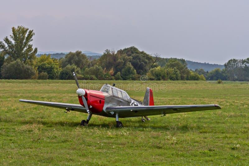 Deutsches Kampfflugzeug vom Zweiten Weltkrieg stockfotos