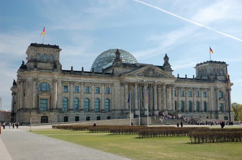 Deutsches Parlament in Berlin stockbild