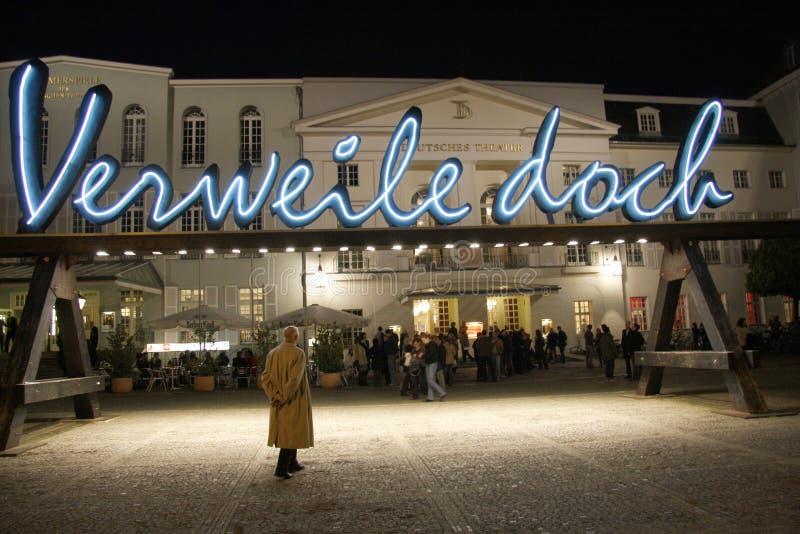 Deutsches-Theater stockbild