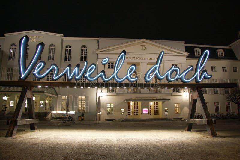 Deutsches-Theater, Berlin lizenzfreie stockfotografie