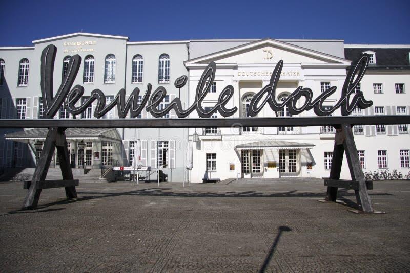Deutsches-Theater, Berlin lizenzfreie stockbilder