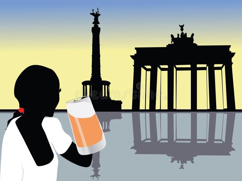 Deutschland lizenzfreie abbildung