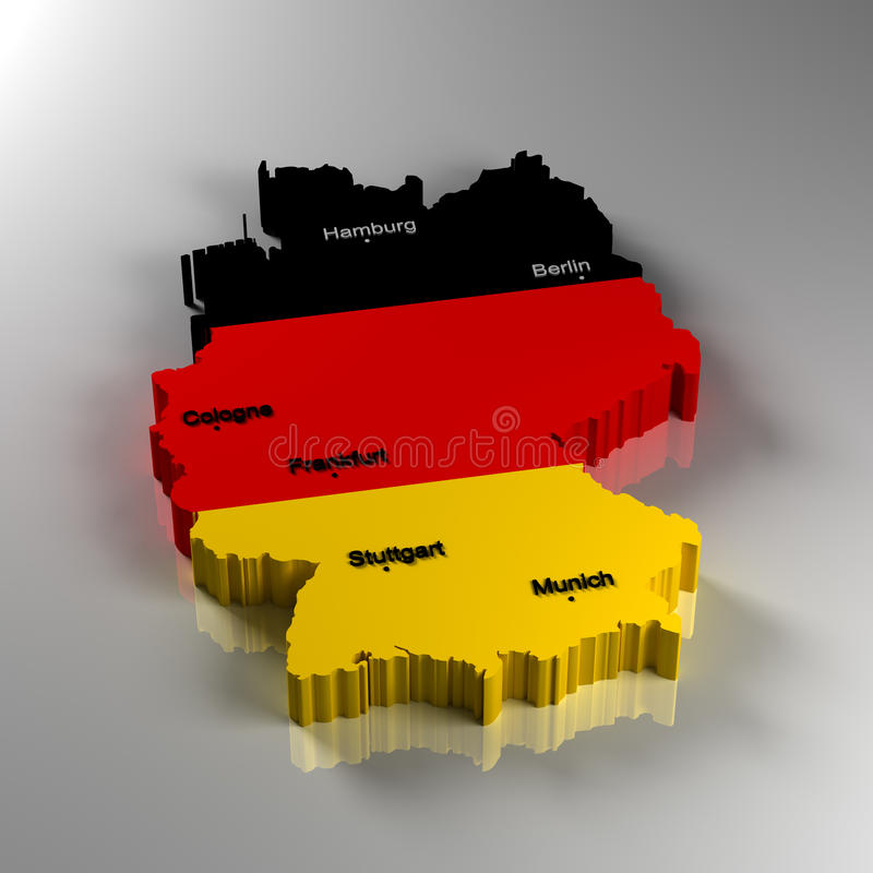Deutschland vektor abbildung
