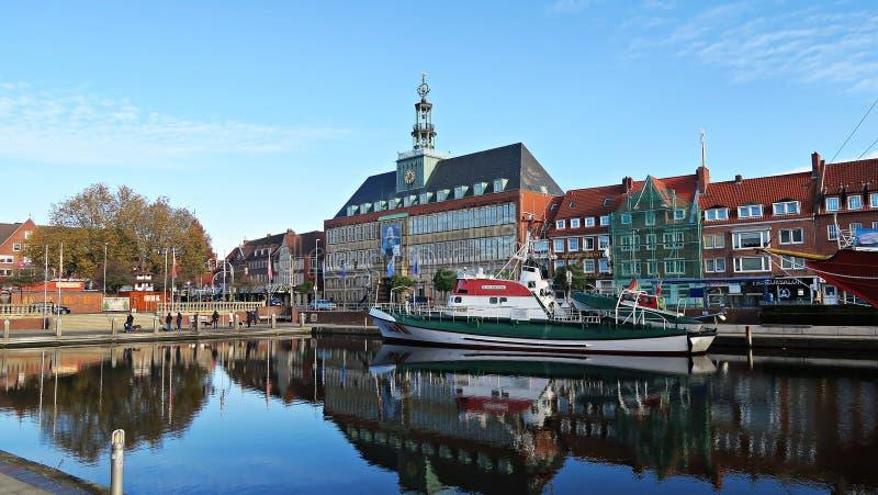 Deutschland Emden στοκ φωτογραφία