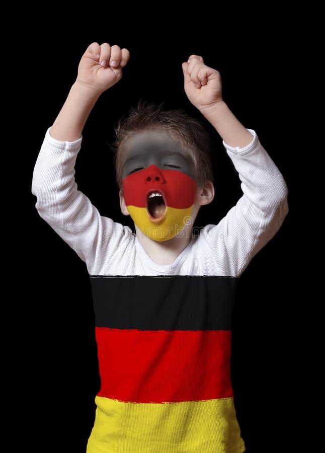 Deutschland-Gebläseabschluß oben lizenzfreies stockfoto