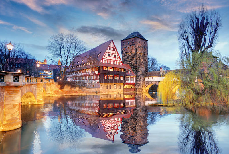 Deutschland- - Nürnberg-Stadt lizenzfreies stockfoto