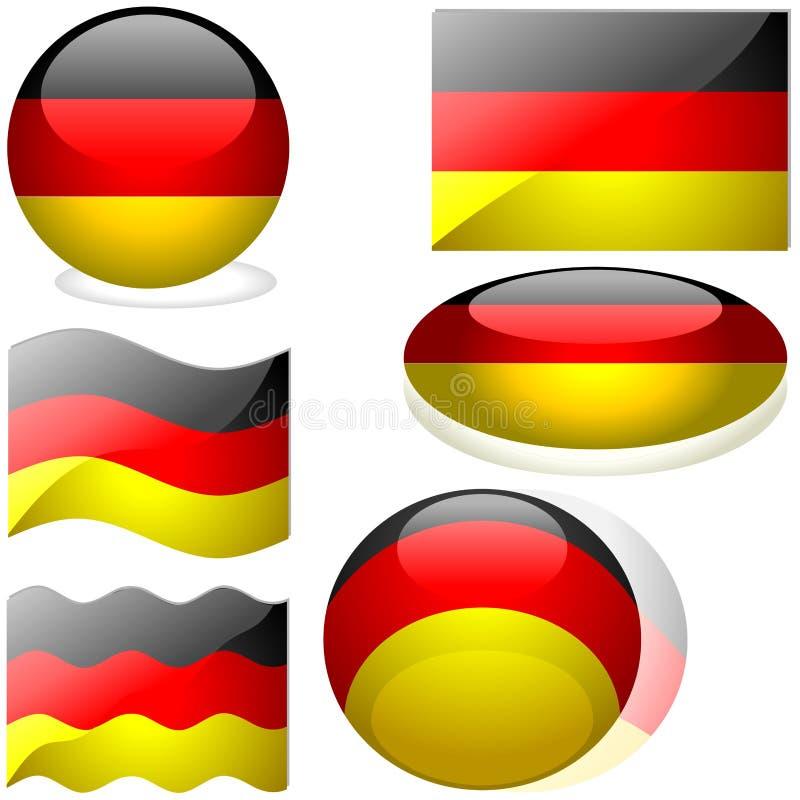 Deutschland-Set vektor abbildung
