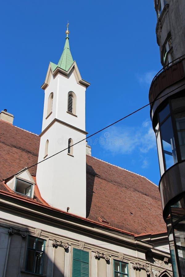 Deutschordenskirche - Vienne - l'Autriche photographie stock