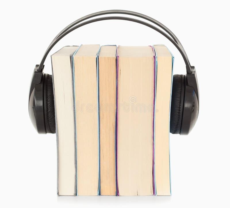 Deutung das audiobook Konzept lizenzfreies stockfoto