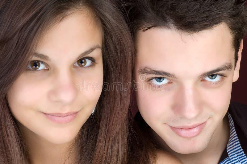 Deux étudiants photo libre de droits