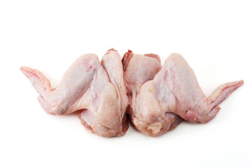 deux ailes de poulet crues image stock image du cuisine 4470051. Black Bedroom Furniture Sets. Home Design Ideas
