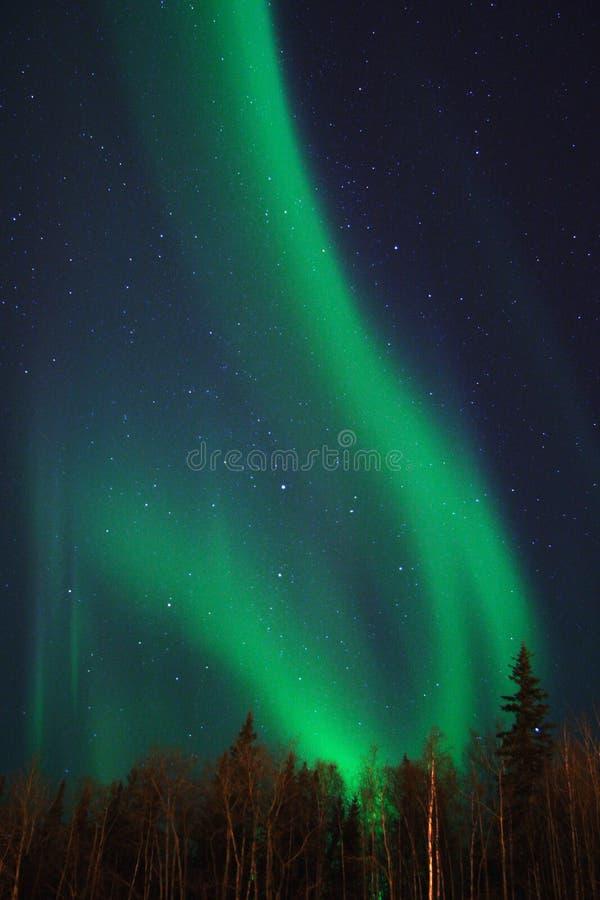 Deux arcs de l'aurore photographie stock libre de droits