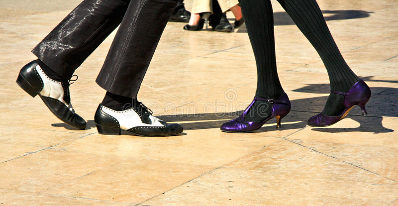 Deux au tango photo stock