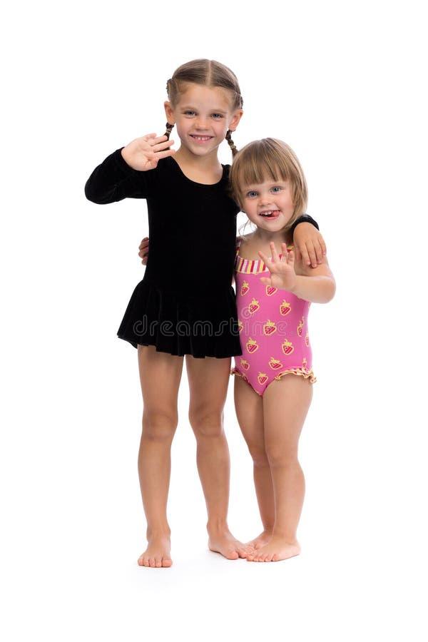 Deux ballerines photographie stock