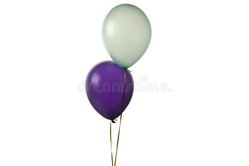 Deux ballons photo stock