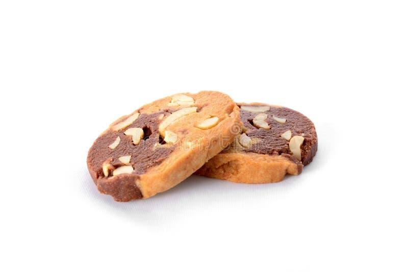 Deux biscuits photographie stock libre de droits