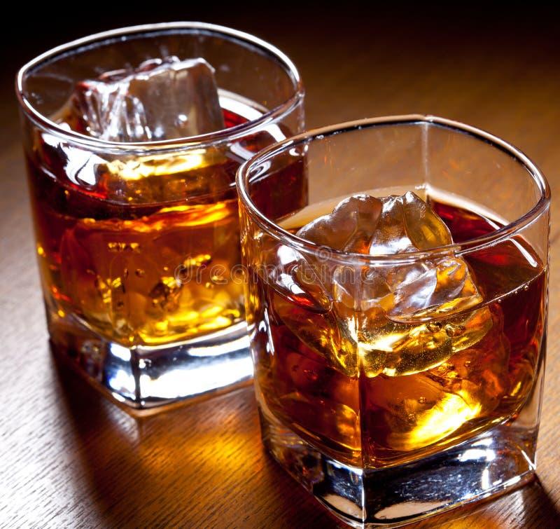 Deux boissons image libre de droits