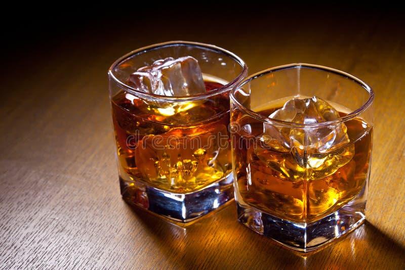 Deux boissons photos libres de droits