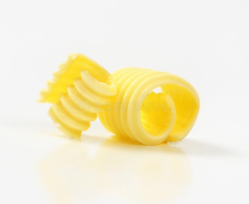Deux boucles de beurre photographie stock libre de droits